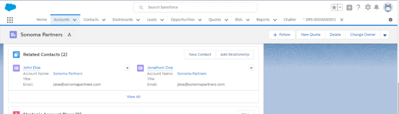 Salesforce Duplicate Related