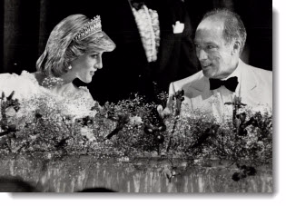 Princess Diana and Pierre Trudeau, 1983