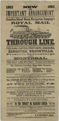 New and important arrangement, 1862