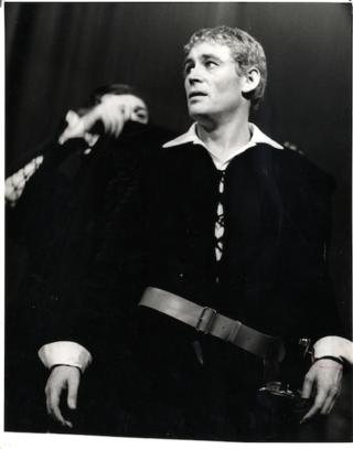 Haciendo HAMLET en 1963 - foto de Angus McBean