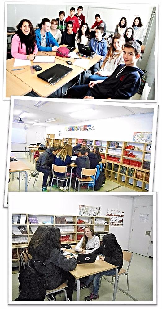 La colaboración está siempre presente en las aulas