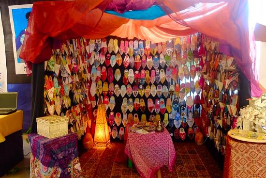 Detalles de la exposición del Proyecto: Las Babuchas de Bena-Mukarran
