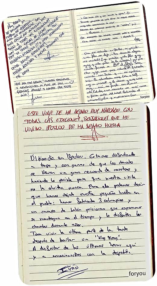 """Diario colectivo. Escrito por el grupo de estudiantes que viajó a Marruecos en mayo de 2014 en el proyecto """"El péndulo de Ifoulou"""""""