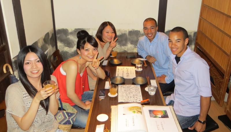 Dinner in Kyoto