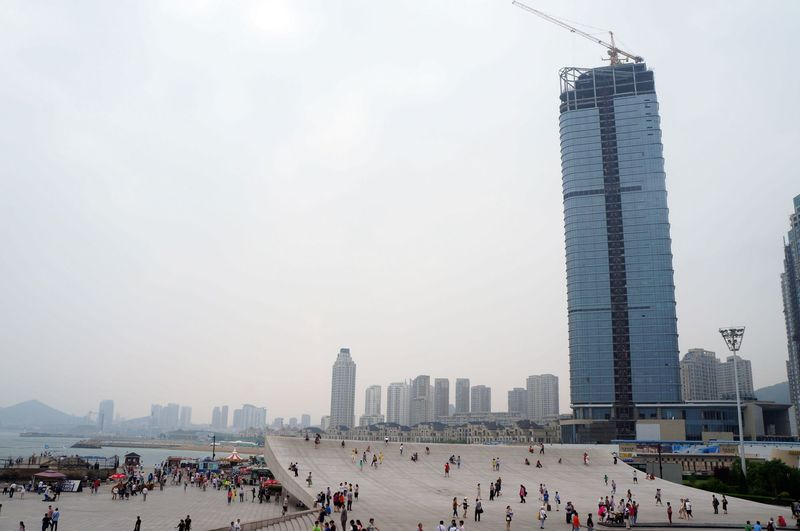 CIEE Beijing - Xinghai Square Construction