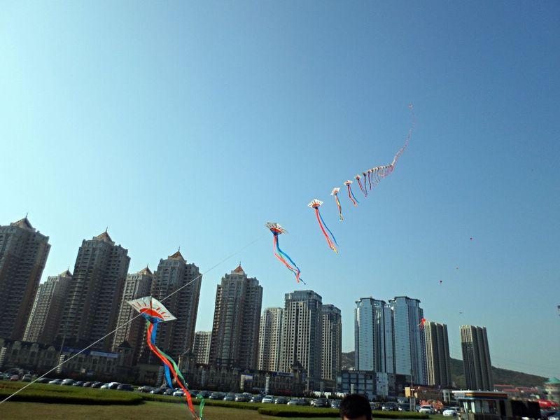 CIEE Beijing - Dalian Xinghai Square Kites