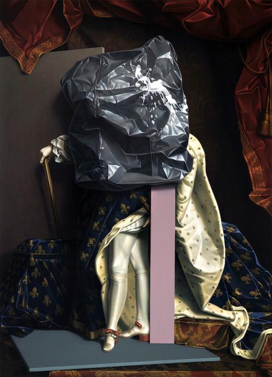Thvndergallery-Exposición-de-las-pinturas-hiperrealistas-de-Eckart-Hahn8