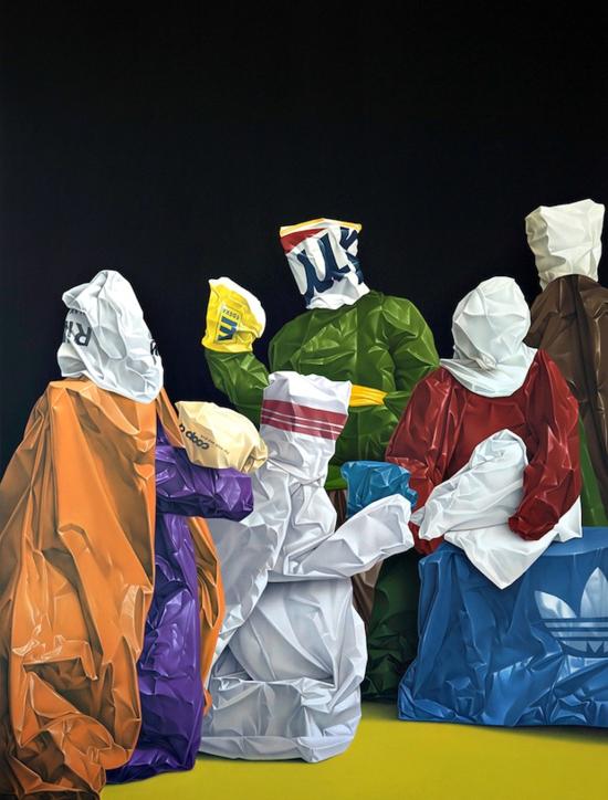 Thvndergallery-Exposición-de-las-pinturas-hiperrealistas-de-Eckart-Hahn14