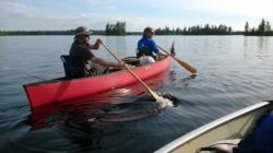 BWCA.Saganaga.Canoe