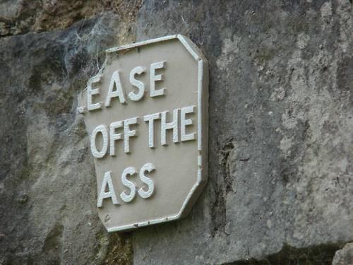 Ass hole ease