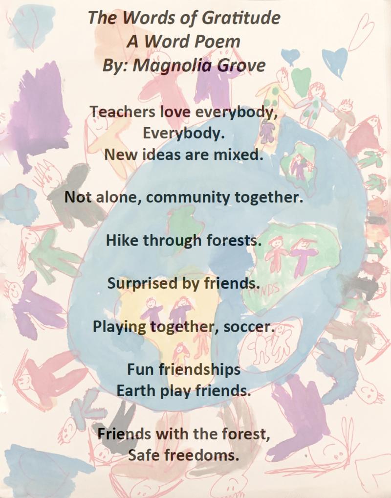 The Words of Gratitude - Magnolia - 2015