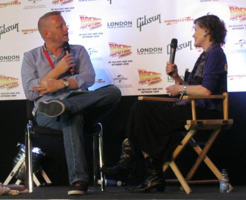 Judy Blume and Patrick Ness
