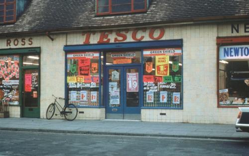 Tesco store 1960s - Tescopix