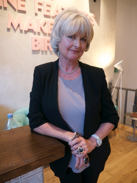 Jane Felstead after CACI and hair treatment