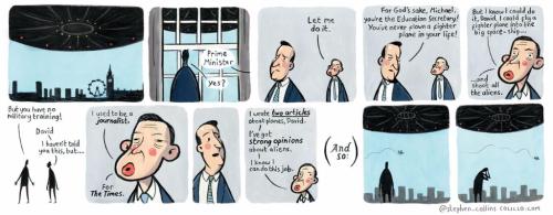 Collins Gove cartoon