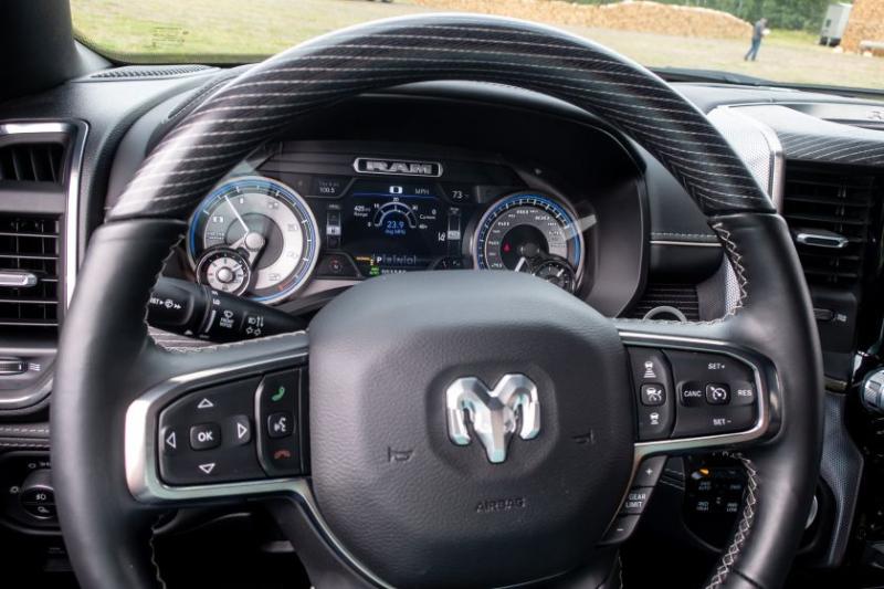 2020 Ram 1500 EcoDiesel Steering Wheel