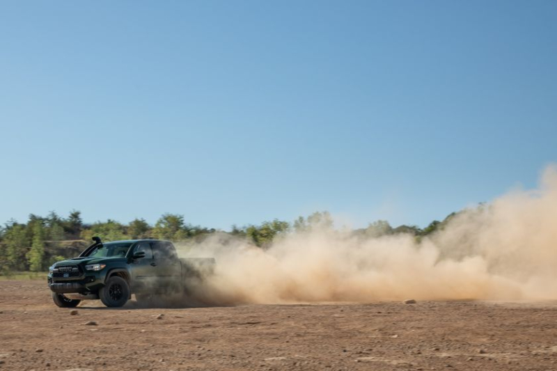 2020 Toyota Tacoma TRD Pro Off-Road Dust Cloud