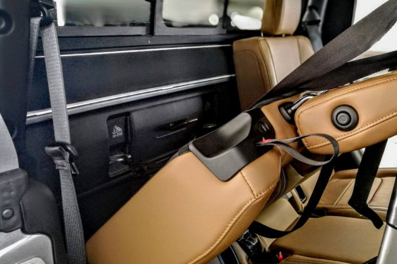 2019 Jeep Gladiator Top Tether Position