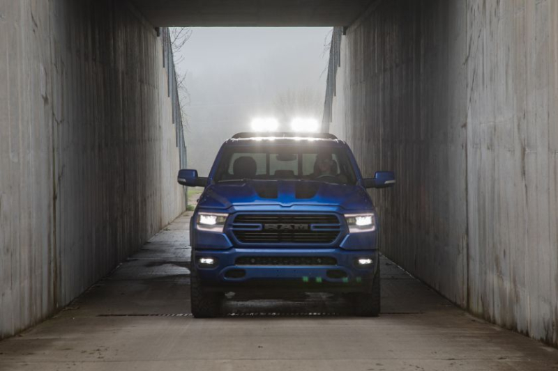 2019 Ram 1500 Big Horn LED Rooftop Lights