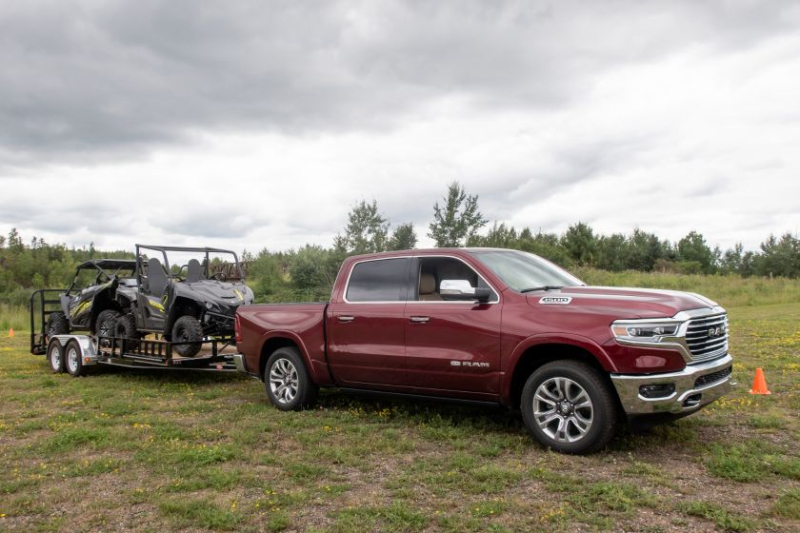 2020 Ram 1500 EcoDiesel Towing Side-By-Sides