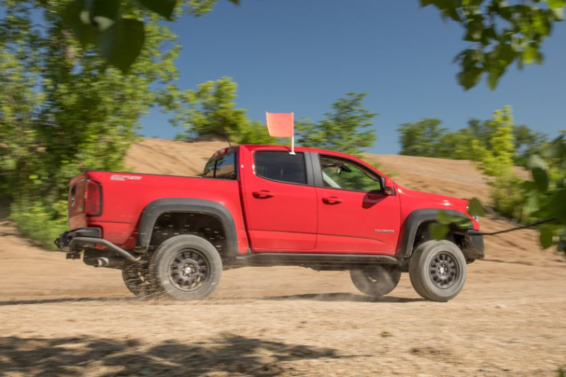 2019 Chevrolet Colorado ZR2 Bison In Sand/Gravel Test