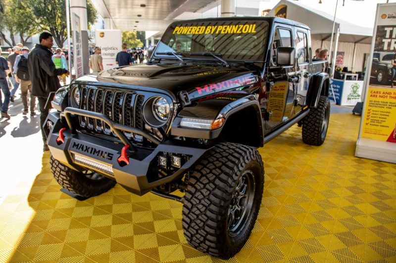 Jeep Gladiator Hennessey Maximus 1000 Side Profile