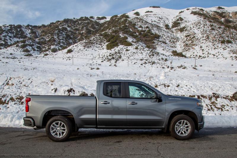 2020 Chevrolet Silverado 1500 Diesel Double Cab Profile