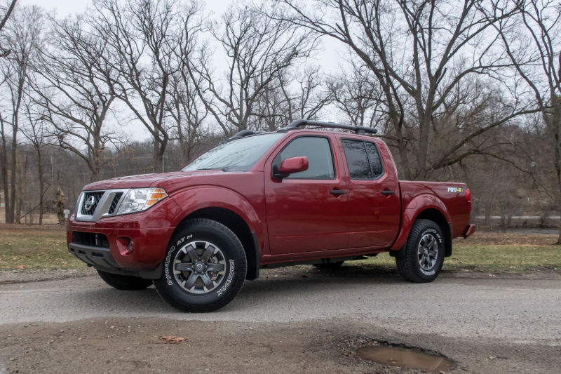 2020 Nissan Frontier Pro-4X Side Profile