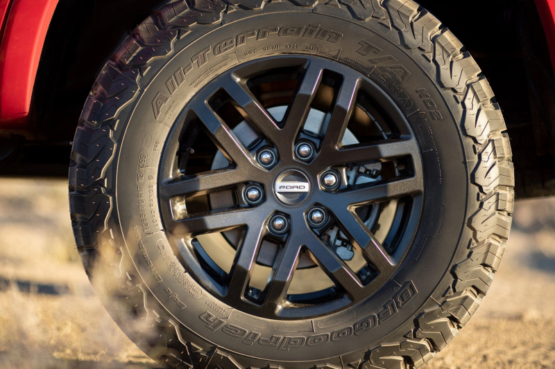 BFGoodrich Tires for Ford Performance Levels 2 And 3 For Ford Ranger
