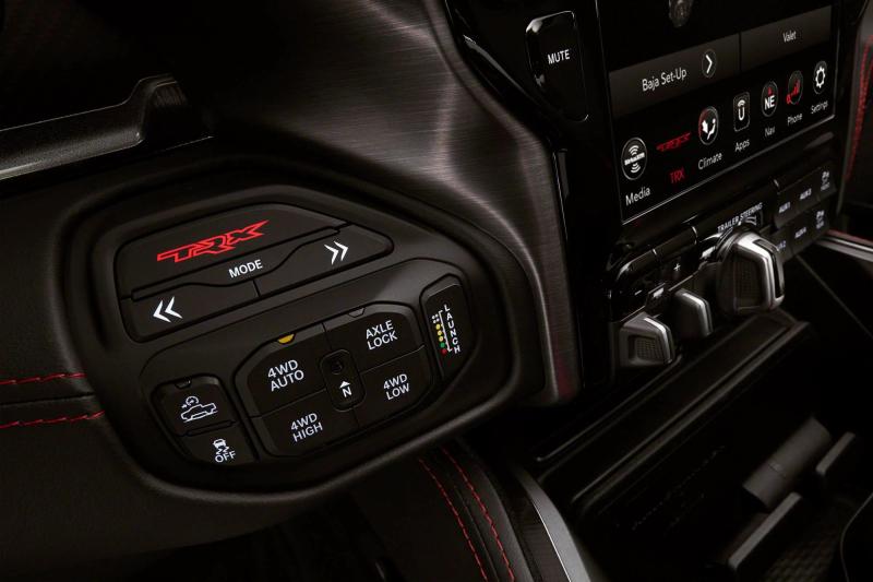 2021 Ram 1500 TRX Drive Mode Selector