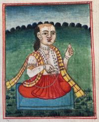 centre: Sadhavi (f. 13v)