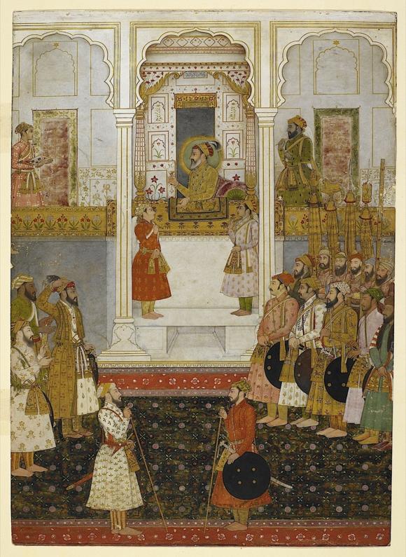 Shah Jahan durbar_1500