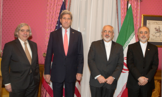 Four negotiators