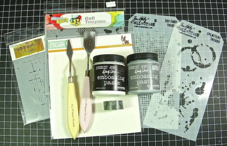 Embossing Paste - 1