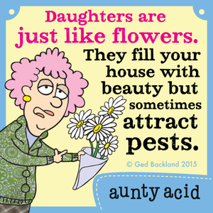 Aunty Acid by Ged Backland