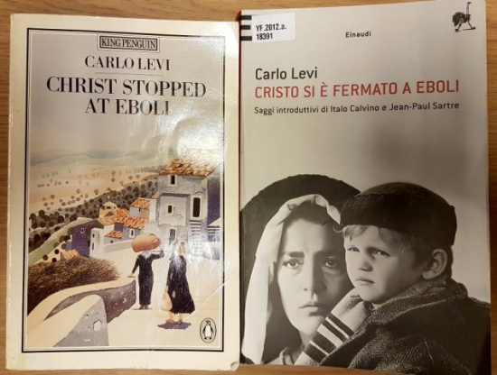 Carlo Levi covers