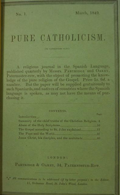 Calderon BT Pure Catholicism