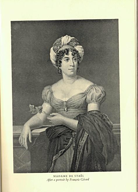 Portrait of Germaine de Staël