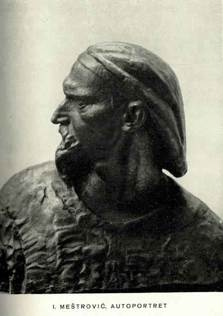 V Mestrovic autoportret