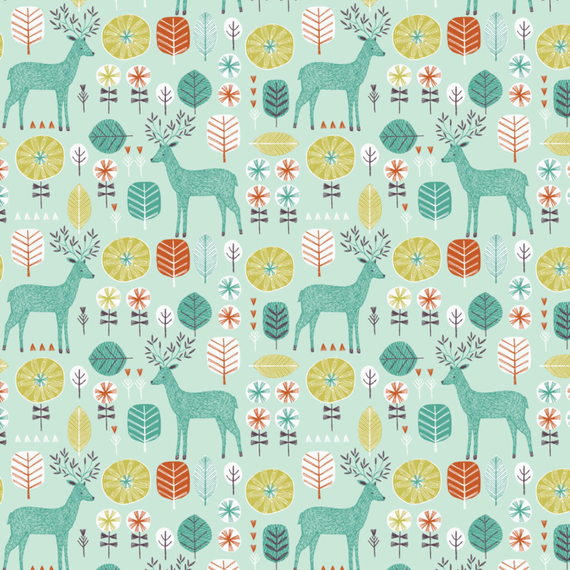 Retro_Deer by Bethan_Janine
