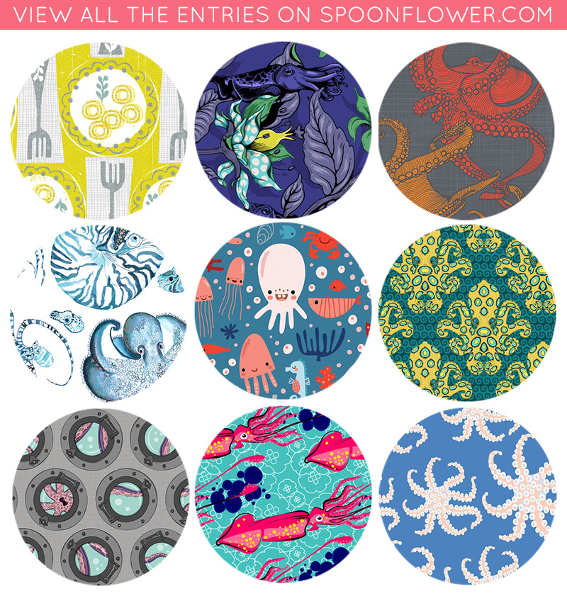 Vote for cephalopod fabrics