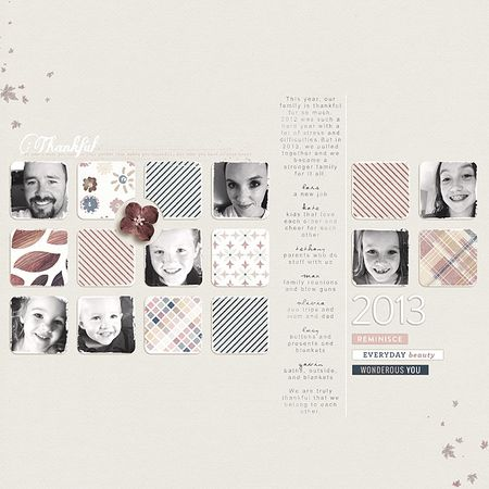 Thankful 2013 - Kate Christensen