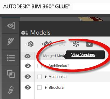 Models module in BIM 360 Glue