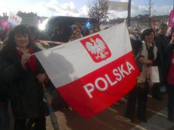 L - Polonais à Lyon Manif 2FEV