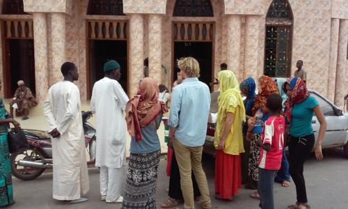 Students take on Senegal, Fall15