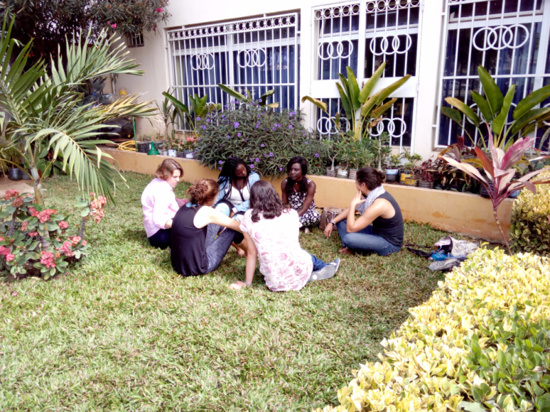 Cultural Learning & Language practice with Senegalese students of ISDD