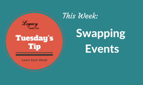 Tuesday's Tip - Swapping events (Intermediate)