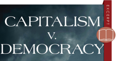 4capitalism v. democracy fb and blog graphic
