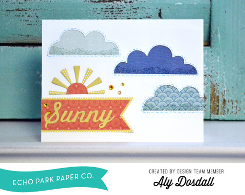 Sunny Card by Aly Dosdall 1