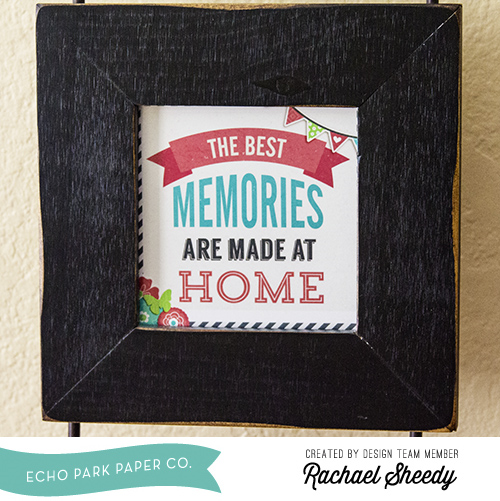 Using an Echo Park Digital Kit to Make Home Decor - Echo Park Paper